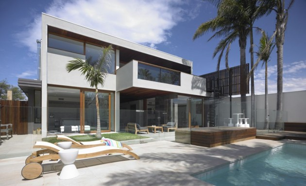 The Resort House By Bower Architecture Contemporist