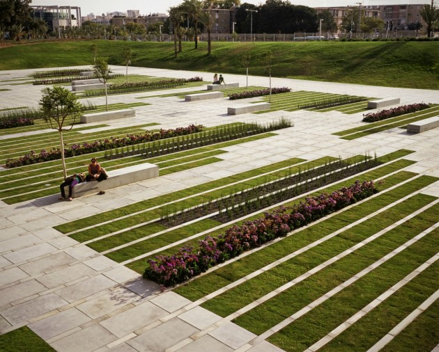 Superb Chyutin Architects Designed A Landscaped Square At Ben Gurion University In  Beer Sheba, Israel. Good Looking