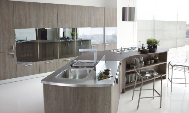 The MILLY Kitchen from Stosa Cucine | CONTEMPORIST