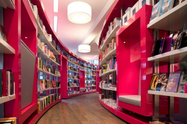 Paagman Book Store by CUBE Architects