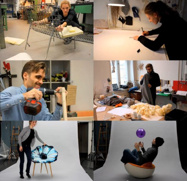 Furniture Design School Unique Danish Design School Students Making Furniture Video  Contemporist Design Ideas