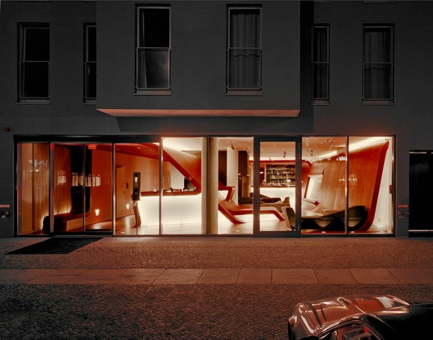 The International Architectural Firm GRAFT Designed The Hotel Q! In Berlin,  Germany.