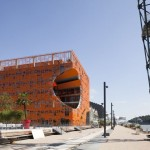 The Orange Cube by Jakob + Macfarlane Architects