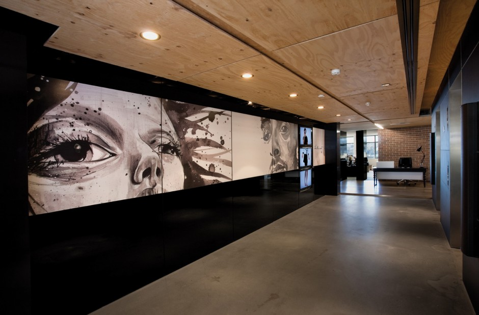 the leo burnett office interior by hassell