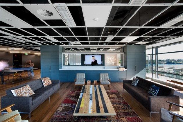 The leo burnett office interior by hassell contemporist for Interior design agency sydney