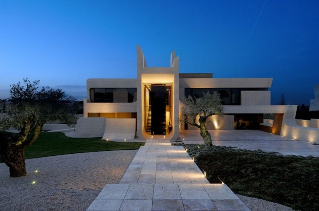 Good A Cero Architects Have Completed A New House In Madrid, Spain. Home Design Ideas