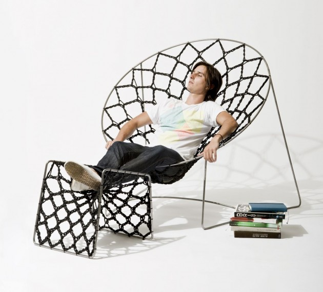 Delicieux Australian Designer Henry Sgourakis Has Created The NOOK Chair.