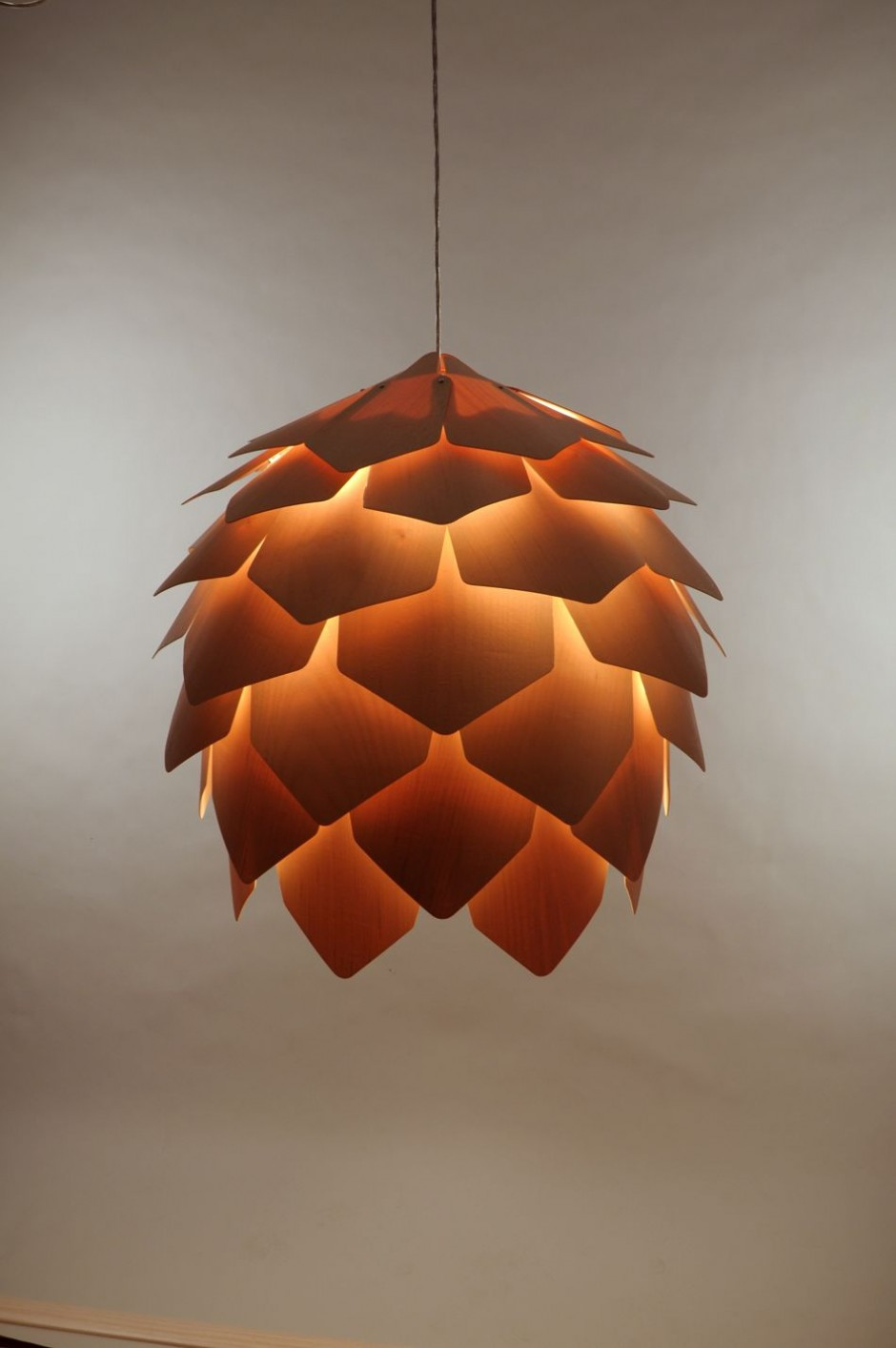 Crimean Pinecone Lamp, by Pavel Eekra