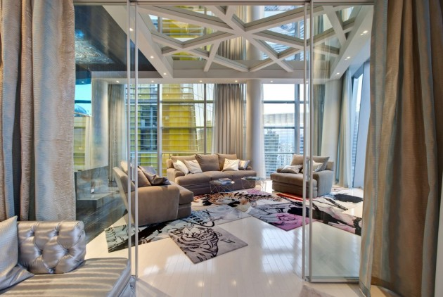 American Interior Designer Mark Tracy Of Chemical Spaces Has Completed A  Penthouse Residence In Las Vegas, Nevada.