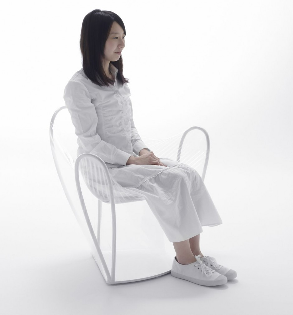 Transparent Chair by NENDO