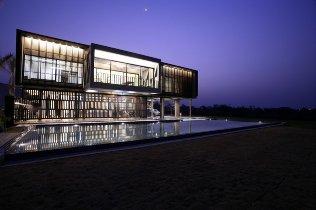 Attractive Bangkok Based Supermachine Studio Designed The Ubon House In Ubon  Ratchathani, Thailand. Good Looking