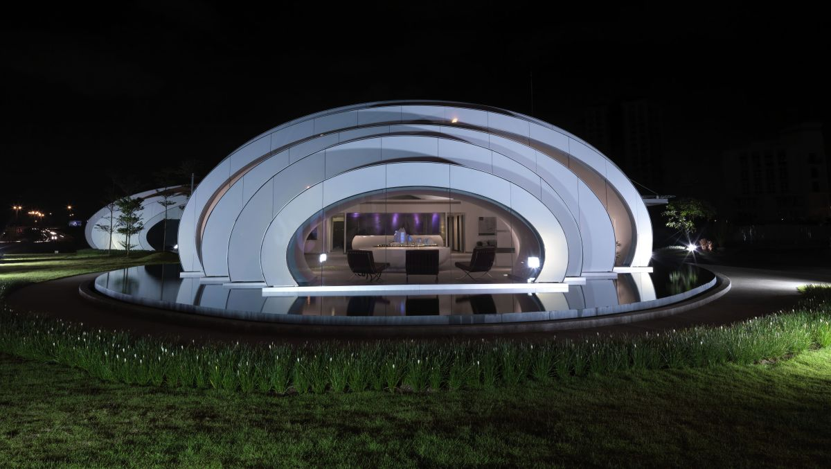 Elegant ... The Pod Pavilion By Studio Nicoletti Associati ... Amazing Design