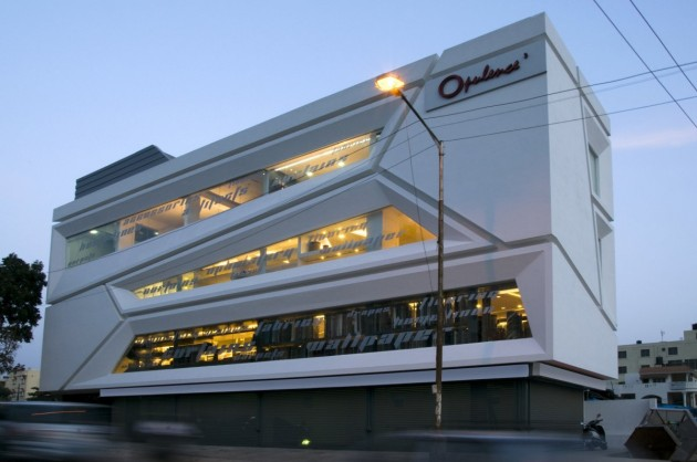 ... have sent us this commercial building they designed in India