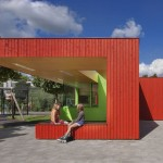 Playground Building by Van Rooijen Architects