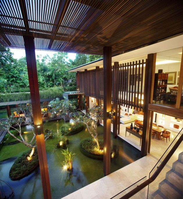 Guz Architects have designed the Sun House in Singapore. .
