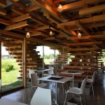 Café Kureon by Kengo Kuma and Associates