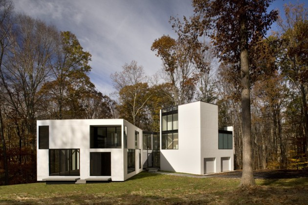 Architect David Jameson designed the Graticule House in Great Falls,  Virginia.