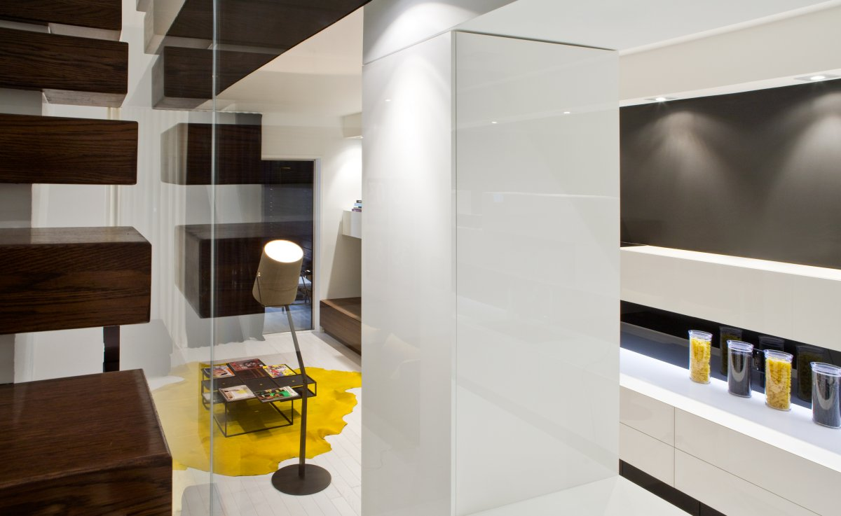 Trinity bellwoods town homes interior by cecconi simone ·