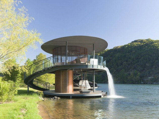 High Quality Bercy Chen Studio Have Designed The Shore Vista Boat Dock In Austin, Texas. Awesome Ideas