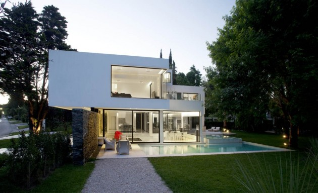 Andres remy arquitectos designed the carrara house in pilar argentina