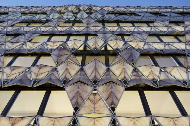 Manuelle Gautrand Architecture Have Completed The Origami Office Building In Paris France