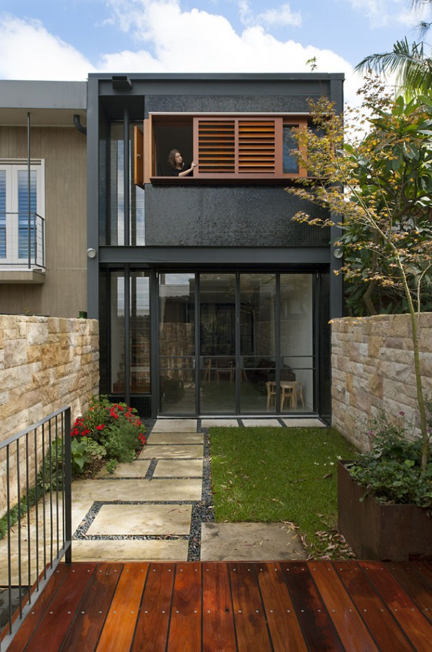 Rozelle terrace house by carter williamson architects for What is terrace house