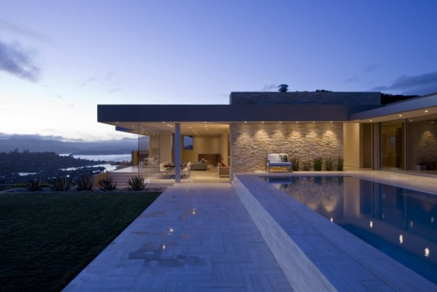 Swatt | Miers Architects designed a remodel and extension for this house in  Tiburon, California.