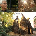 Stickwork Sculptures by Patrick Dougherty (VIDEO)