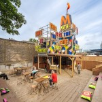 MVMNT Café by Morag Myerscough