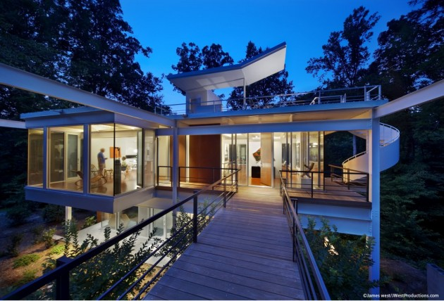 Chiles residence by tonic design construction contemporist