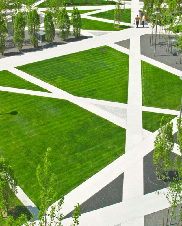 Scholars green park by gh3 contemporist for Form garden architecture