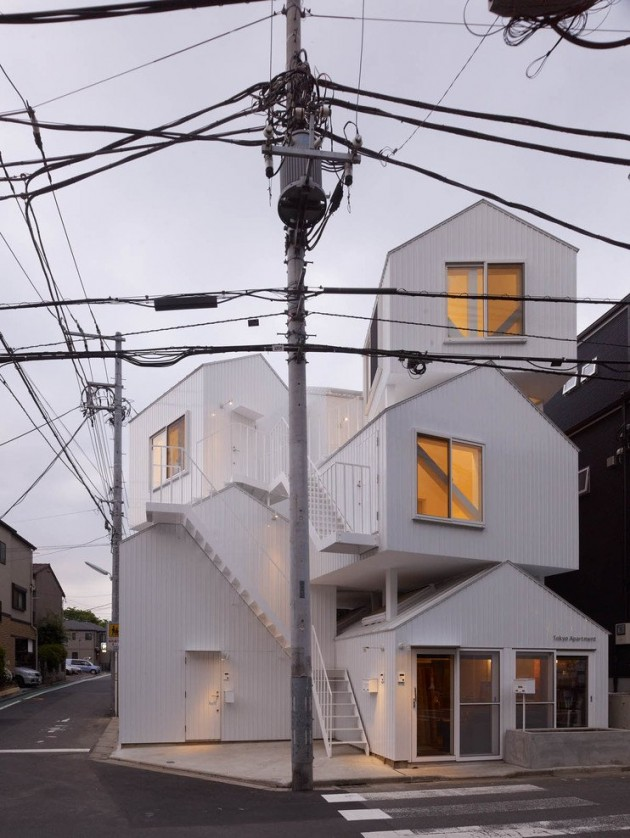 Sou Fujimoto Architects Designed A Building With Four Living Units In Tokyo,  Japan. . Gallery