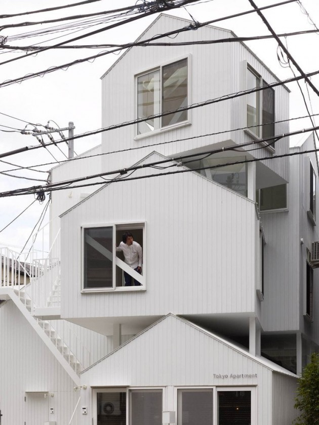 ... Disorderly. . . . Architecture: Sou Fujimoto Architects