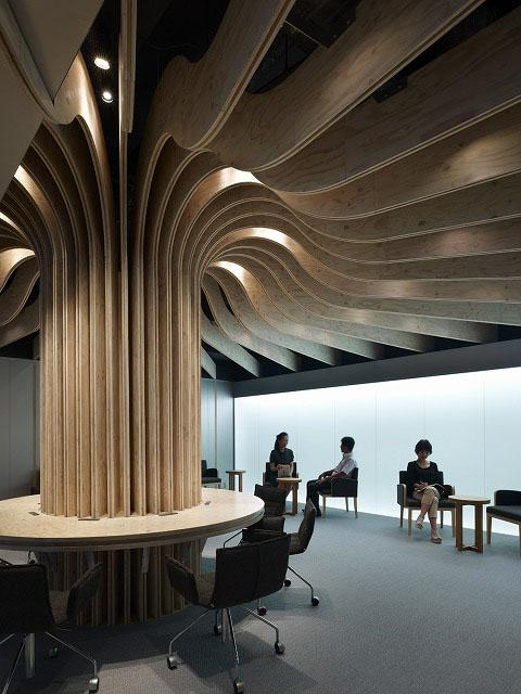 Oita airport lounge by takao shiotsuka contemporist for Top design hotels tokyo