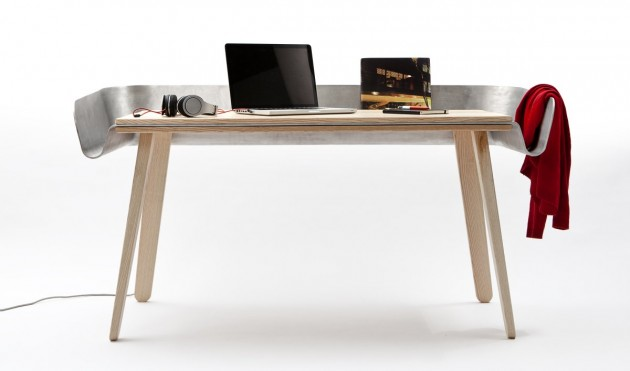 'Homework' Work Table by Tomas Kral for super-ette