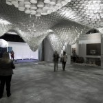 Paper Chandeliers by Cristina Parreño Architecture with MIT