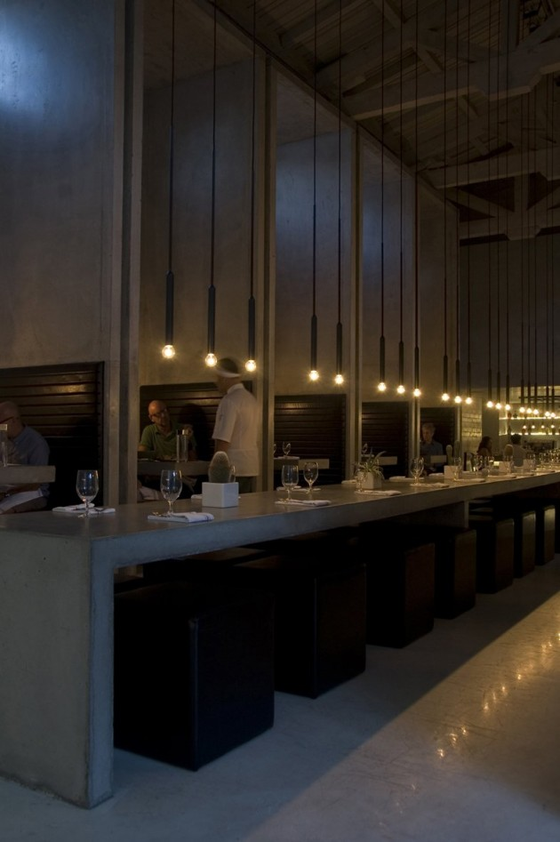 Work Kitchen Bar Lighting By Pslab