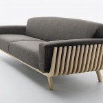 Hamper sofa by Riva and Montanelli for Passoni Nature