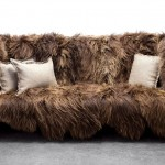Long Wool Sofa by Sentient Furniture