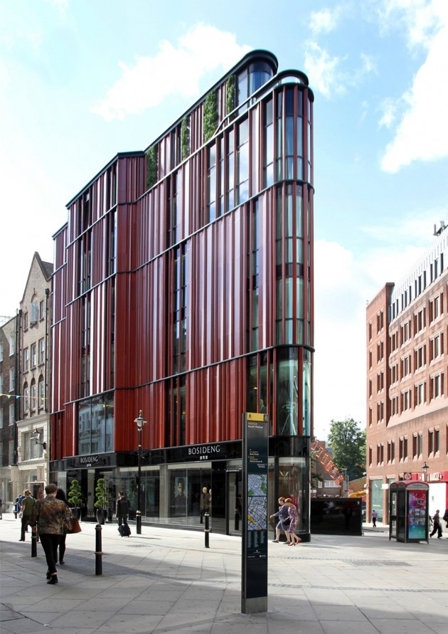 South Molton Street Building by DSDHA