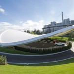 Autostadt Roof and Service Pavilion by GRAFT
