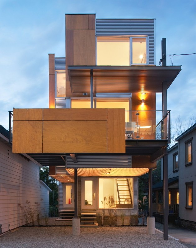 Colizza Bruni Architecture Have Designed A Semi Detached House In Ottawa,  Canada. Design