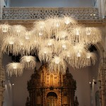 Light installation by Arturo Alvarez