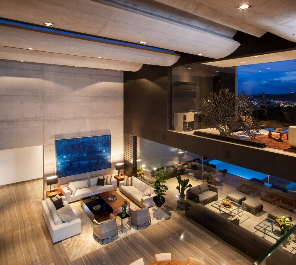Modern architecture & interior design #4 - CH House by GLR Arquitectos