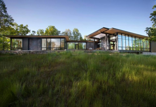 Modern Architecture North Carolina piedmont residencecarlton architecture+design | contemporist