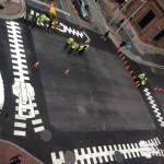 Baltimore installs artistic crosswalks