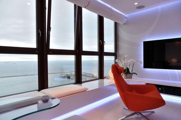 Sea Towers Apartment by Ministerstwo Spraw We Wnetrzach