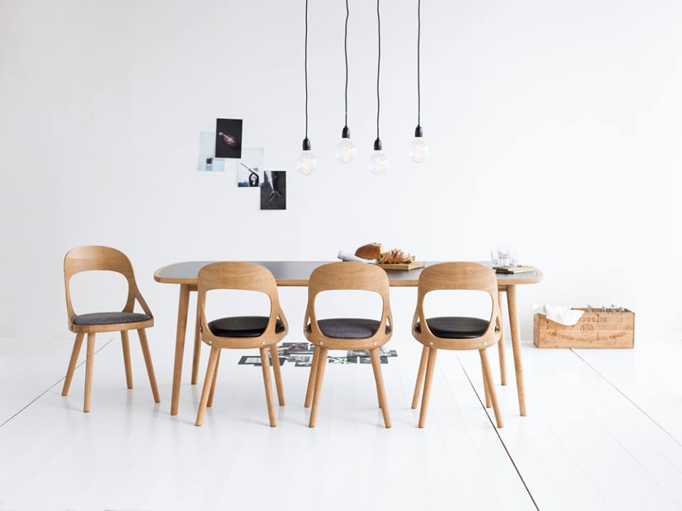 Skandynawski Design HansK Krzeso Colibri