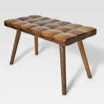 Tufted Bench by Joy Charbonneau and Derek McLeod