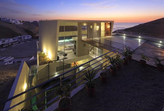Casa Palillos E-3 by Vertice Arquitectos
